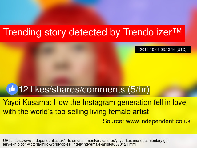 Yayoi Kusama: How the Instagram generation fell in love with